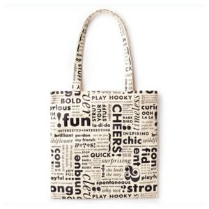 KATE SPADE What Do You Say Canvas Tote